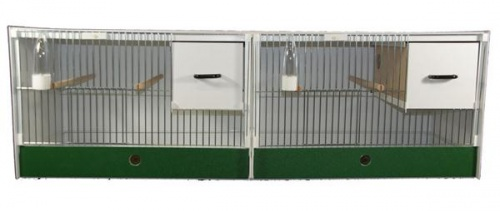 JH Double Breeding Cage - Budgie