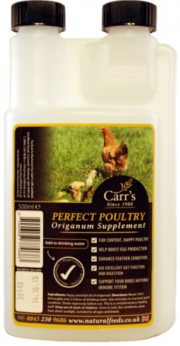 Carrs Perfect Poultry Origanum Supplement