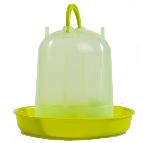 Premium Poultry Drinker Lime Green 3 Litre