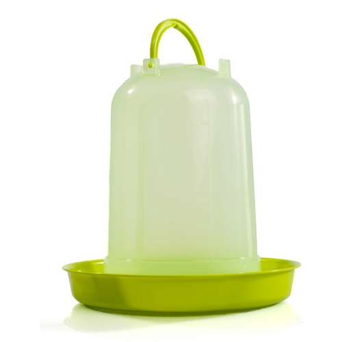 Premium Poultry Drinker Lime Green 8 Litre