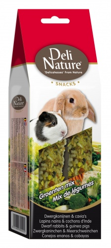 Deli Nature Rabbit & Guinea Pig Snacks Vegetable Mix