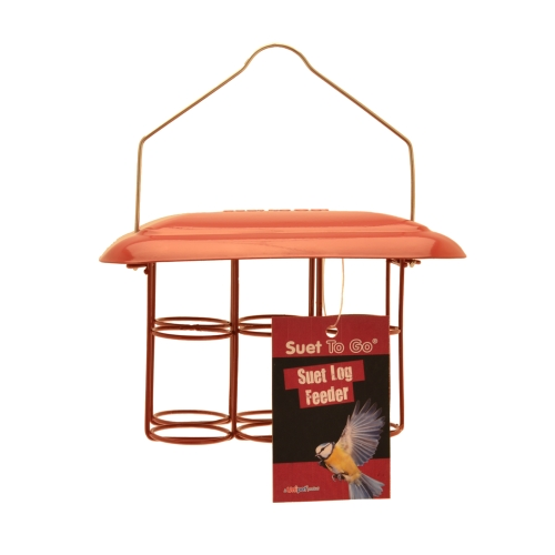 Suet To Go Log feeders Metal