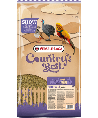 Versele Laga Country's Best Show 3 Pellets