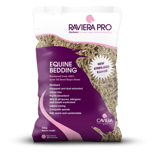 Raviera Pro Sterilised Rape Straw Bedding