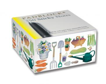 Claire's Garden Sticky Notes