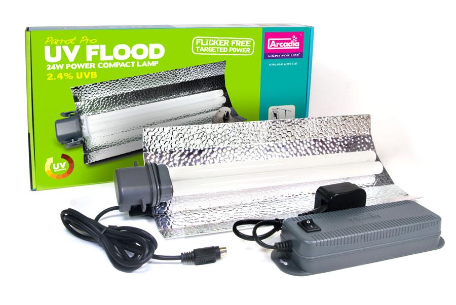 Arcadia Parrot Pro UV Flood Light