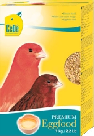 Cede red canary egg food red factor canary eggfood cede 1kg garden