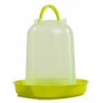 Premium Poultry Drinker Lime Green 5 Litre