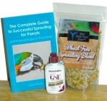 Best Bird Food Ever Complete Sprouting Kit - Wheat Free Blend
