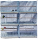 Standard Wire SIngle Breeding Cage