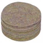 5'' Jute Nest Felts