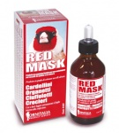 Red Mask bird colourant