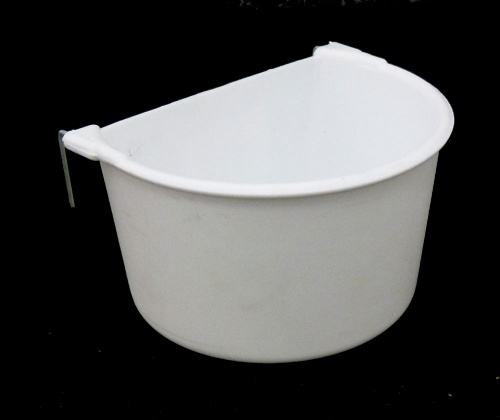Medium White Two Hook D Cup