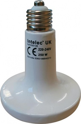 Heat Lamp Bulb Ceramic Dull Emitter 150w
