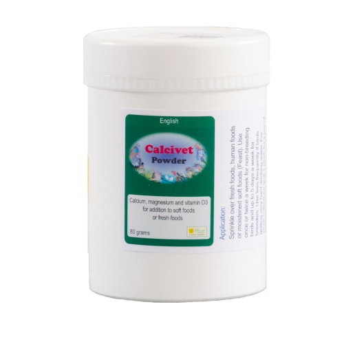Calcivet Powder - The Birdcare Company