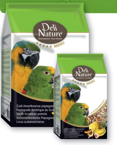 Deli Nature 5* Menu South American Parrots