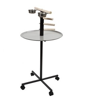 Stepped Parrot T Bar Perch / Playstand