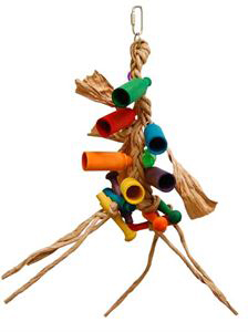 Jupiter Paper Rope Parrot Toy 20 Inch