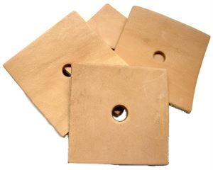 Leather Square 7.5cm
