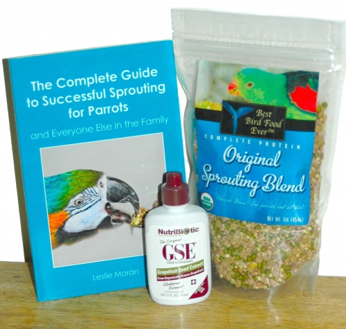 Best Bird Food Ever Complete Sprouting Kit - Original Blend