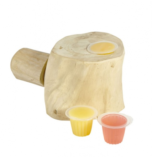 Java Wood Jelly Cup Holder