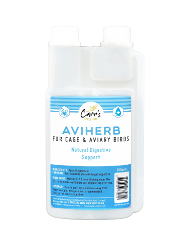 Carrs Aviherb (Cage & Aviary) 500ml