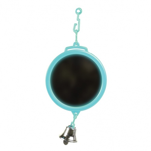 Mini Round Bird Mirror