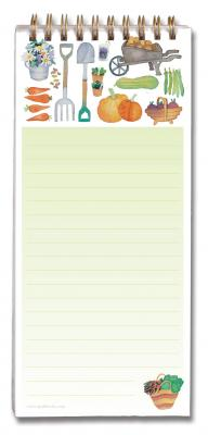 Claire's Garden Magnetic Shopping List