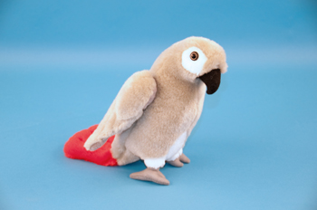 African Grey Parrot Soft Toy 23cm