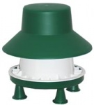 Outdoor Chicken Feeder with Rainhat