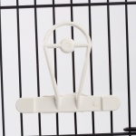 Cuttlefish Holder White Plastic
