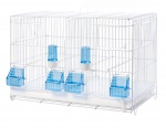 Italian Wire Double Breeding Cages