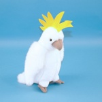 Soft Toy Cockatoo Parrot