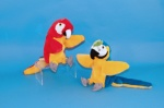Hand Puppet Blue and Gold Macaw