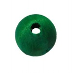 Coloured Round Wooden Bead 2.5cm