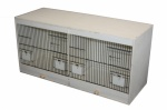 Wooden Double Breeding Cage - 80x40x40cm