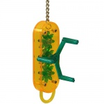 Cog Winder Parrot Toy - Small