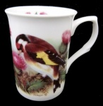 Goldfinch China Mug