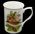 Zebra Finch China Mug