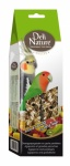 Deli Nature Parakeet / Lovebird Snacks Fruit & Honey