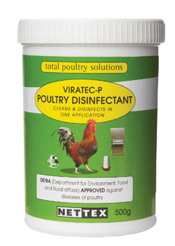Net-Tex Viratec-P Poultry Disinfectant 500g