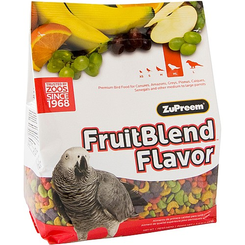 ZuPreem FruitBlend Medium Parrot